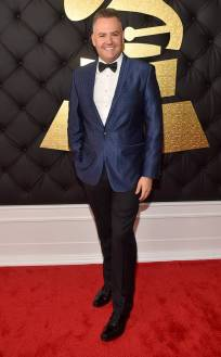 Ross Matthews on the 59th annual Grammy Awards red carpet in Los Angeles on February 12, 2017.